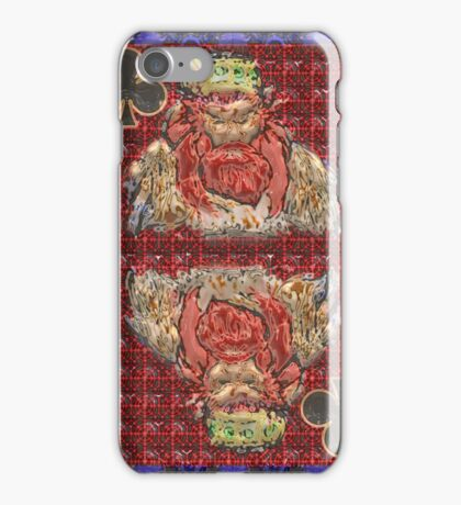 Art Gloss King of Clubs iPhone Case/Skin