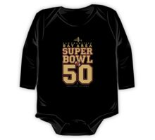 Super Bowl 50  One Piece - Long Sleeve