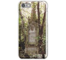 Highgate Cemetery Mears Memorial iPhone Case/Skin