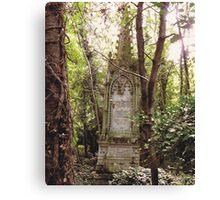Highgate Cemetery Mears Memorial Canvas Print