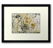 Black Pigment And Coffee Framed Print