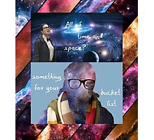 Doctor Who - Osgood: All of Time and Space Photographic Print