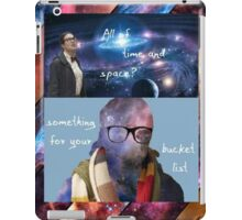 Doctor Who - Osgood: All of Time and Space iPad Case/Skin