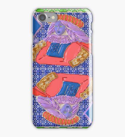 Art Gloss Queen of Diamonds iPhone Case/Skin
