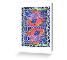 Art Gloss Queen of Diamonds Greeting Card
