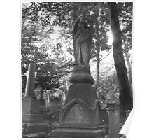 Highgate Cemetery Angel Gabriel Poster