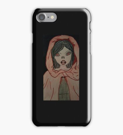 Cloaked Vampire iPhone Case/Skin