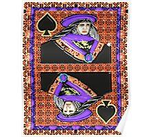 Art Gloss Queen of Spades Poster