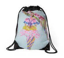 Fashion wonder woman Drawstring Bag