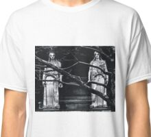 Gothic Angel Statue Classic T-Shirt