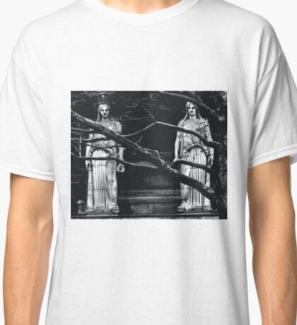 Gothic Angel Statue Classic T-Shirt