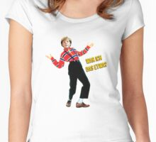 Merkel / Urkel (German) Women's Fitted Scoop T-Shirt