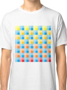 colourful checkered Classic T-Shirt