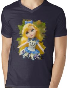 Blondie Lockes  Mens V-Neck T-Shirt