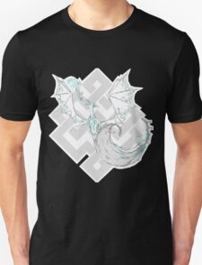 Water drenched dragon Unisex T-Shirt