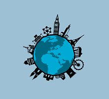 European City Attractions Unisex T-Shirt