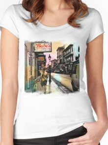 French Quarter Babes Women's Fitted Scoop T-Shirt