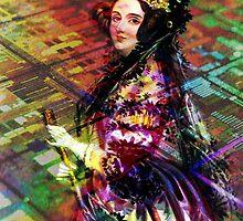 Ada Lovelace - Rainbow of Microchips by UnitShifter