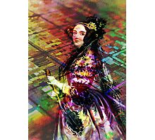 Ada Lovelace - Rainbow of Microchips Photographic Print