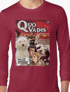 Lagotto Romagnolo  - Quo Vadis Movie Poster Long Sleeve T-Shirt