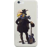 Bird of the street iPhone Case/Skin