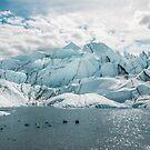 Matanuska Glacier, Alaska, USA by tara romasanta