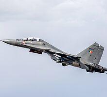 """Sukhoi Su-30MKI """"Flanker-F"""" SB167 getting airborne by Colin Smedley"""