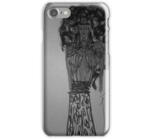 Afro Hair Style iPhone Case/Skin
