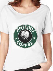 Anteiku Starbucks Kaneki Ken Logo Tokyo Ghoul Women's Relaxed Fit T-Shirt