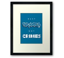 Bust Rhymes, Not Crimes Framed Print