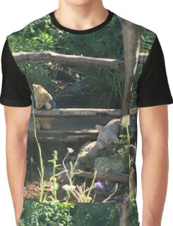 Winnie the Pooh Photograph Graphic T-Shirt