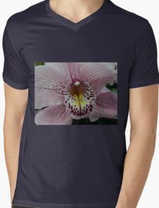 Orchid from New Zealand Mens V-Neck T-Shirt