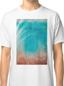 Abstract colorful texture: blue & red Classic T-Shirt