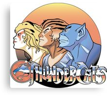 thundercats design t-shirt Canvas Print