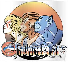 thundercats design t-shirt Poster