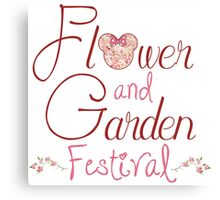 Epcot Flower and Garden Festival Canvas Print