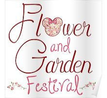 Epcot Flower and Garden Festival Poster
