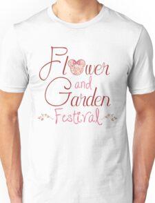 Epcot Flower and Garden Festival Unisex T-Shirt