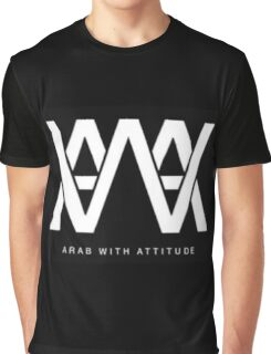 AWA - Arab With Attitude Graphic T-Shirt