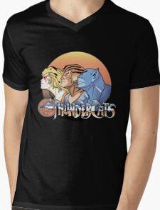 thundercats design t-shirt Mens V-Neck T-Shirt