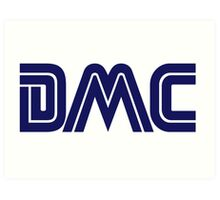 DMC Sega (white) Art Print