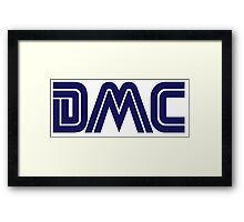 DMC Sega (white) Framed Print