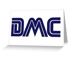 DMC Sega (white) Greeting Card