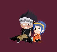 Gajeel and Levy Couple Chibi Womens Fitted T-Shirt