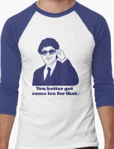 Clinton Cool as Ice Men's Baseball ¾ T-Shirt