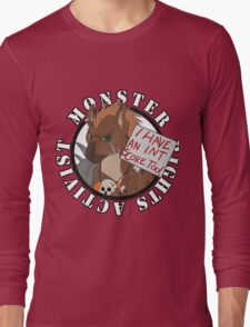 Monster Rights Activist Gnoll Long Sleeve T-Shirt