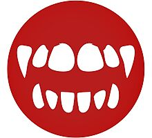 vampire mouth Photographic Print