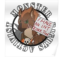 Monster Rights Activist Gnoll Poster