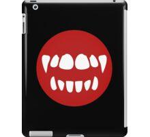vampire mouth iPad Case/Skin