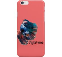 Betta Fighting Fish iPhone Case/Skin